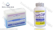 Ivory Caps Skin Whitening/ Lightening Pills 1500mg +Relumins Whitening Soap for Intensive Repair
