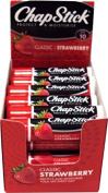 Chapstick Classic Strawberry Lipbalm SPF10 Pack of 24