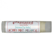 Seasonal Lip Balm, Honey Mint Melange - The Grapeseed Company Santa Barbara