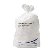BP Absorbant Cotton Wool Balls | 100% Pure Cotton | Sterile & Gentle to Skin