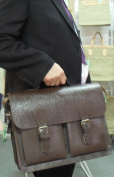 "Briefcase th 386-58-Pig leather, affordable 15 ""2Fä. Thielemann 40 CM"