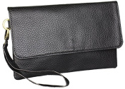 Clutch Evening Bag Leather Handstrap Functionality