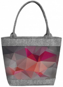 "Felt Bag, Ladies Women's Bag, handbag, handbag, shoulder bag, POLO ""Prisma"""