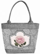 Felt Bag, Ladies Women's Bag, handbag, handbag, shoulder bag, Polo-Romantic