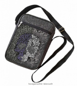 Large Unisex Shoulder Bag Purse Pouch Shoulder Bag-Sachet-Skull
