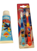 Fireman Sam Toothpaste and Toothbrush