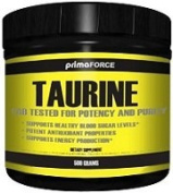 Taurine, 1400mg - 250 grammes by Primaforce mm