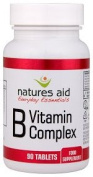 Vitamin B Complex - 90 tablets by Nature's Aid mm