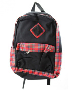 black with tartan Rucksack.