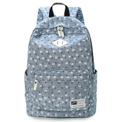 Backpack Rucksack School Bags for Teenager Girls With Floral Pattern