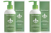 Dermorganic Soapless Facial Cleanser, 250ml - Set of 2