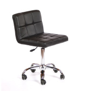 Urbanity hairdressing beauty manicure nail art technician salon chair stool seat black