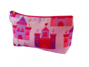 Kids Cotton Wash Bag - Fairy Castles