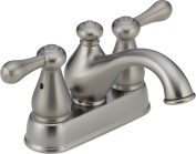 Delta 2578LFSS-278SS Leland Two Handle Centerset Lavatory Faucet, Stainless