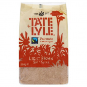 Tate & Lyle Fairtrade Light Brown Cane Soft Sugar