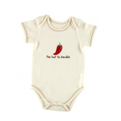Touched By Nature Hudson Baby 100% Organic Cotton Baby Bodysuit Vest