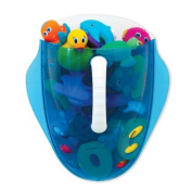 Munchkin Scoop Drain and Store Bath Toy Organiser, Blue Baby, NewBorn, Children, Kid, Infant