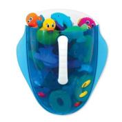 Munchkin Scoop Drain and Store Bath Toy Organiser, Blue Baby, NewBorn, Children, Kid, Infant