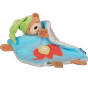 Kaloo - 123 Bear with Elephant - Doudou Comfort Blanket