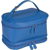 Women's Royce Leather Cosmetic Travel Case