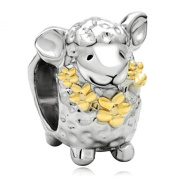 Cute Sheep Animal Charm fits Pandora