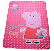 Peppa Pig Butterfly Cuddly Fleece Blanket