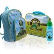 Tractor Ted Travel Set - Includes Farm Ruck Sack and Matching Lunch Bag and Water Bottle