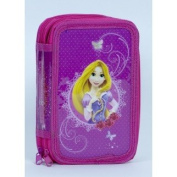 Princess Double Tier Pencil Case with Stationery