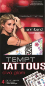 Tempt Tattous Temporary Tattoos, Arm Band, 90ml