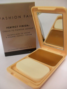 Fashion Fair Oil Free Perfect Finish Creme to Powder Makeup SPF12, 13.5g-Brown Blaze