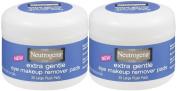 Neutrogena Cosmetics Eye Makeup Remover Pads, Extra Gentle - 2 pk