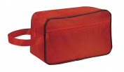 Toiletry Cosmetics Travel Bag, Red by BAGS FOR LESSTM