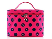 2015 New Design Cherry Pattern Update Big Size Makeup Bag,single Layer Cosmetic Bag