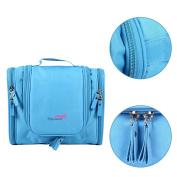 Travel Kit Organiser Bathroom Storage Cosmetic Bag Toiletry Bag Blue