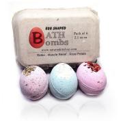 Egg Shaped Relax Bath Bombs