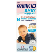 Vitabiotics Wellkid Baby and Infant Vitamins (150ml) - Pack of 2