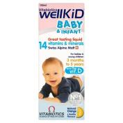 Vitabiotics Wellkid Baby and Infant Vitamins (150ml) - Pack of 2