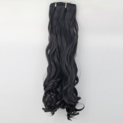 Manufacturers Selling High Temperature Wire Materials Best-selling Layer 7 Wave Women Hair Extention black
