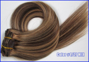 50cm 7pcs 70g Clip in Remy Human Hair Extensions for Women Beauty Hot Sale