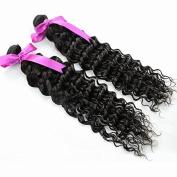 Sina Beauty 2 Bundles 36cm 41cm Top 6A Deep Wave Peruvian Virgin Human Hair Wholesale Grade 7a virgin hair raw virgin unprocessed Peruvian human wavy Deep wave hair