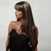 European Hair Wigs Synthetic Realistic Wigs for Women Hair Weaves Natural Looking Wigs Blonde Wig Wholesale 3283