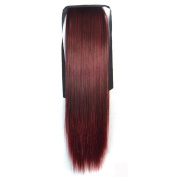 Alay & me Coloured Collection Bundled Long Straight Ponytail