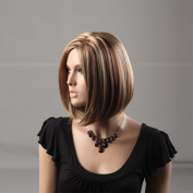 Hot Bob Wigs Synthetic Women Hair Wigs Makers High Quality Natural Hair Wig Wholesale 3750