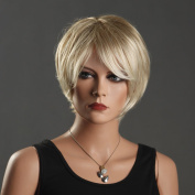 Office Ladies Wigs Short Blond Wigs for Women Girls Wig Best Selling Wigs European Women Wigs Hot Stylish Wig 3092