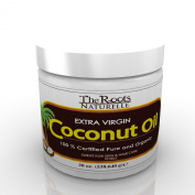 Coconut Oil - Extra Virgin 100% Certified Pure and Organic. For Skin and Hair Care. Edible