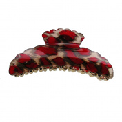 Hair Accessory - Large Leopard Skin Hair Jaw Claw Clip