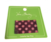 Gorgeous Vera Bradley Colourful Hair Pins in Parisian Paisley Dots