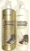 NatureWell Extra Virgin Coconut Oil Nourishing Shampoo and Conditioner Set