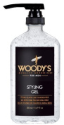 Woody's Styling Gel with Light to Medium Hold for Men, 500ml by Woody's