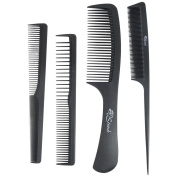 Strands Professional Hair Cutting Carbon Kit 4pcs